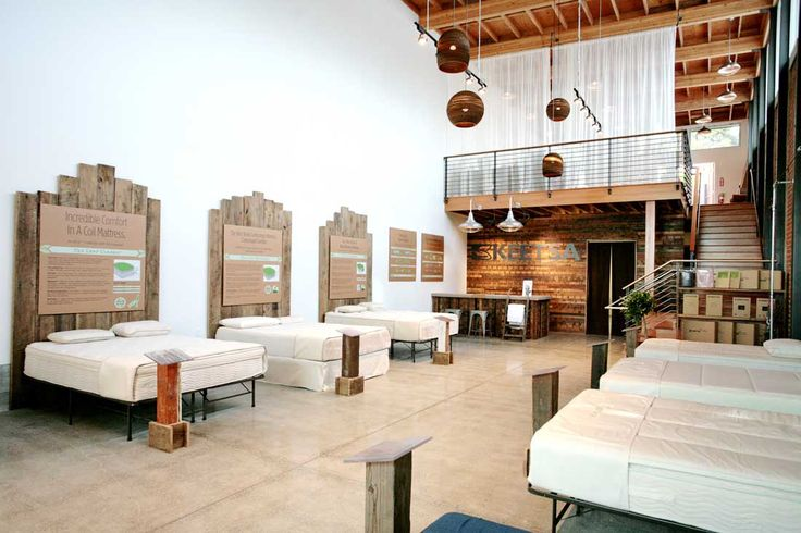 Berkeley Keetsa Eco-Friendly Matress Store - interior