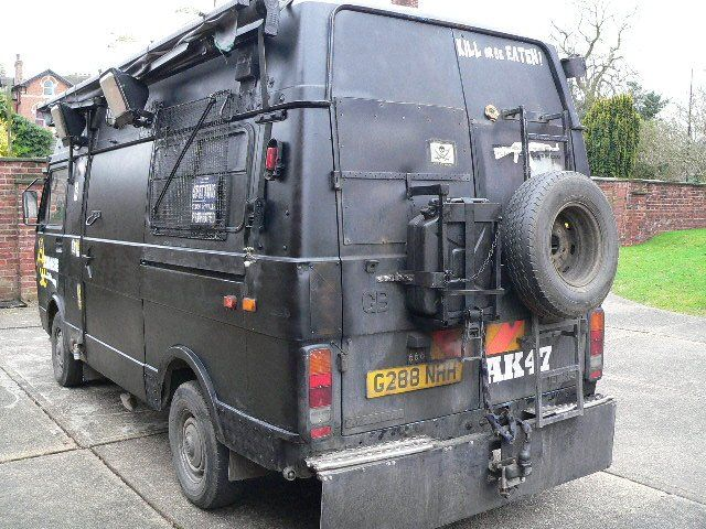 VW Lt 35 Stealth Camper For Sale Bikes Hot Rods And