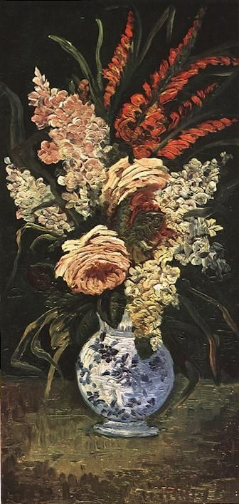 Vincent van Gogh: The Paintings (Vase with Gladioli and Lilac)