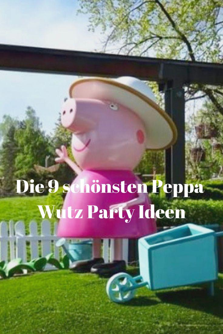 Die 9 schönsten Peppa Wutz Party Ideen – Mama im Spagat | Entspannt ist besser als perfekt.