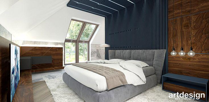 THINK TWICE | Wnętrza domu | Projekt sypialni