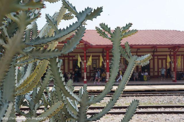 AnneClaireBCN: Hua Hin, une gare pas comme les autres