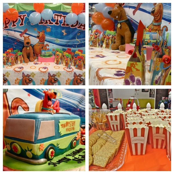 Scooby Cake Decorations