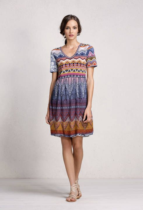 Loose Stitch Dress - Dress | Ivko Woman
