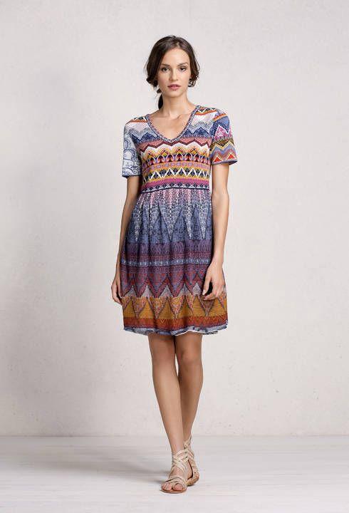 Loose Stitch Dress - Dress   Ivko Woman
