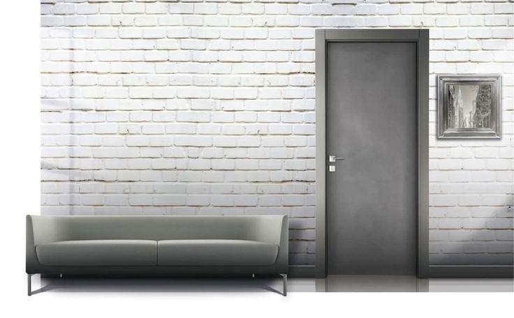Серые межкомнатные двери фото