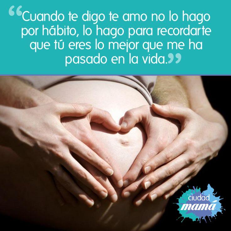 #CiudadMamá Tener un #bebé es como enamorarse de nuevo.