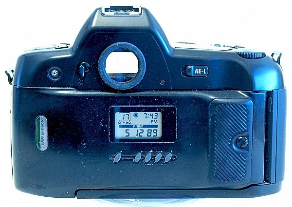 Nikon F90X, MF-25 Back