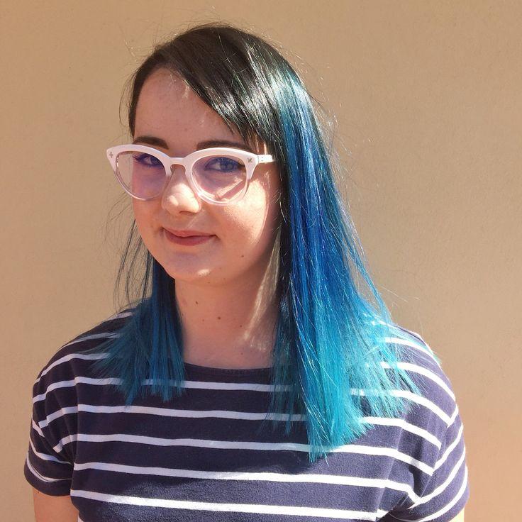 Blue Beauty Ombré / Balayage  www.chillicouture.com.au