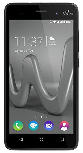 Wiko Lenny3 Smartphone débloqué H+ (Ecran: 5 pouces – 16 Go – Double SIM-Micro – Android) Gris sidéral: Expérience Selfie unique avec la…