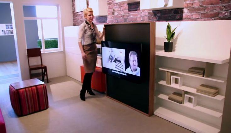 Ahorrar espacio con muebles innovadores