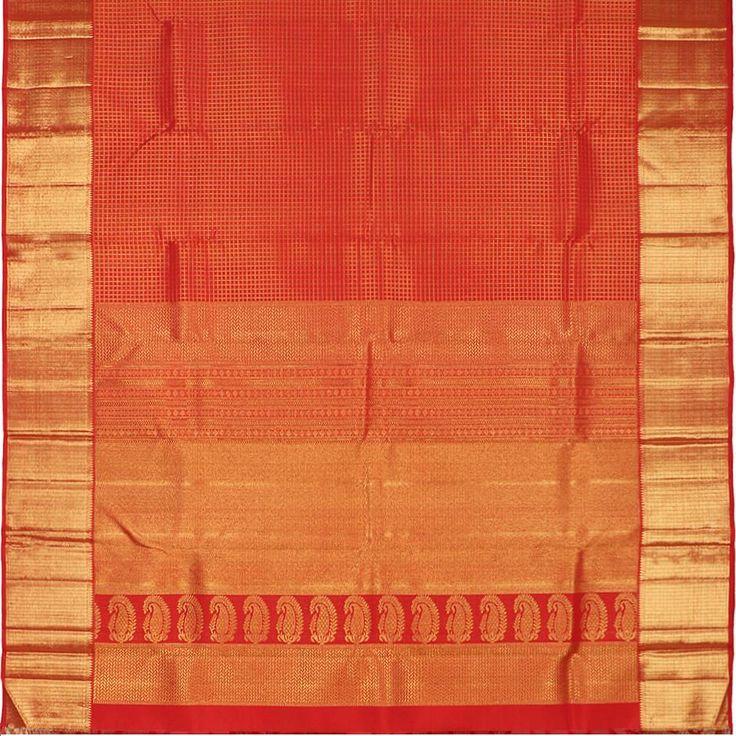 Kanakavalli Kanjivaram Silk Sari 060-01-18834 - Full View