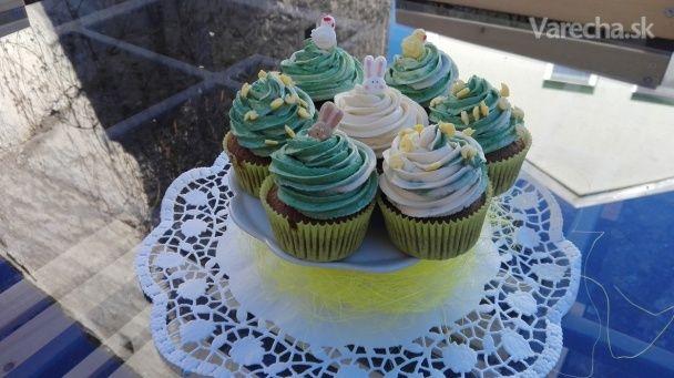 Veľkonočné vanilkové cupcakes - Recept