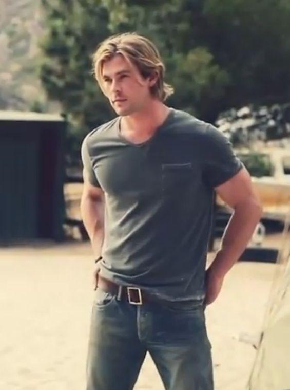 The elder Hemsworth brother