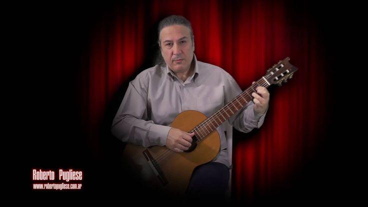 Re fa si - tango Roberto Pugliese guitarra (Delfino)