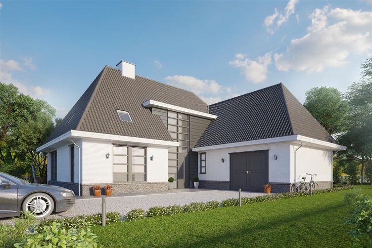 Nieuw ontwerp jaren 30 Villa www.buitenhuisvilalbouw.nl