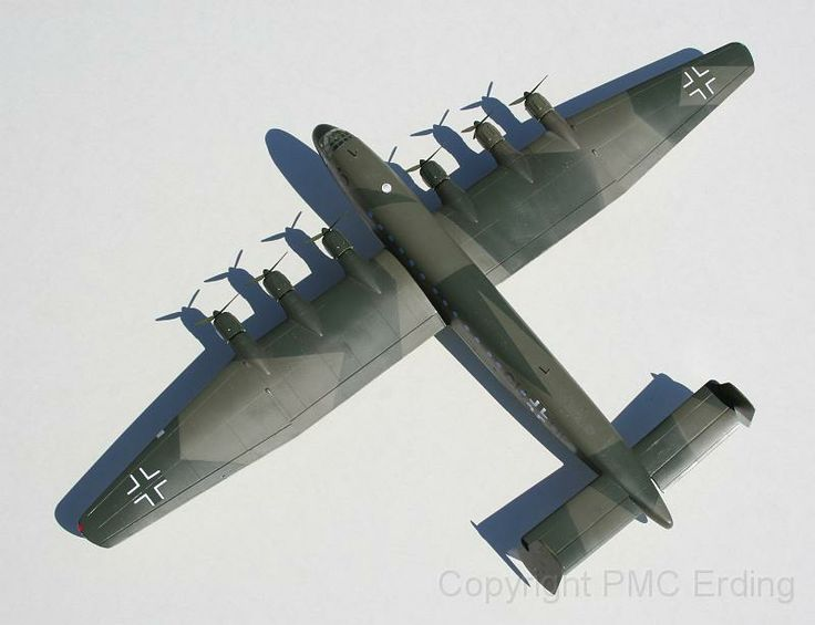 Junkers Ju 390 V1 Planet Models 1-72 Hauk Roland 04