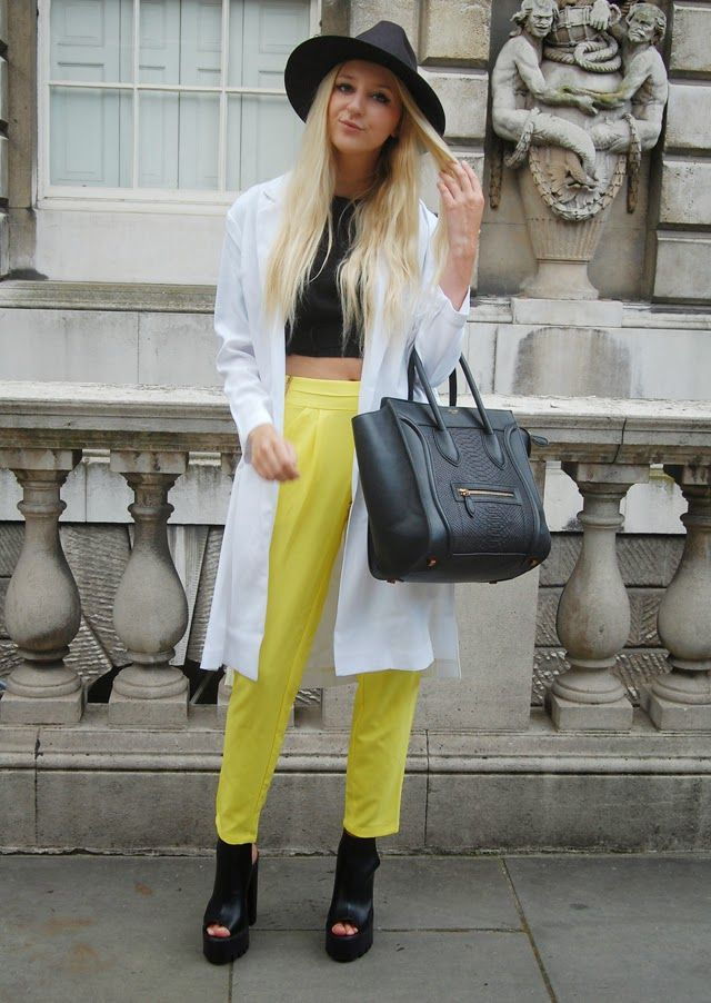 london fashion week ss15 / lfw / london fashion week street style / fashion blogger / pretty little thing / celine