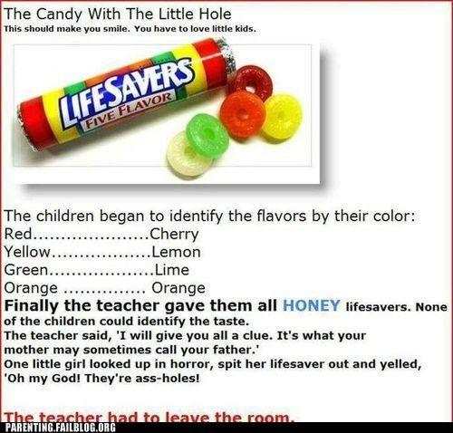 Parenting Fails: Taste the Rainbow