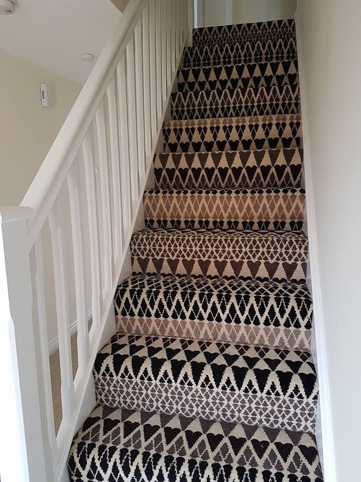 Show Me Yours: Coatal Carpets of Marske installation of Alternative Flooring's Quirky B - Margo Selby Collection, Fair Isle Sutton