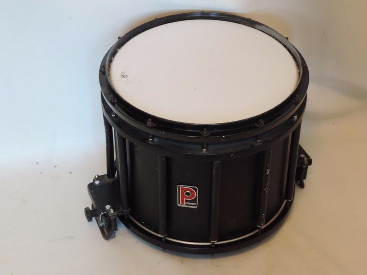 Vintage Premier High Tension Marching Snare Drum 12 x 14