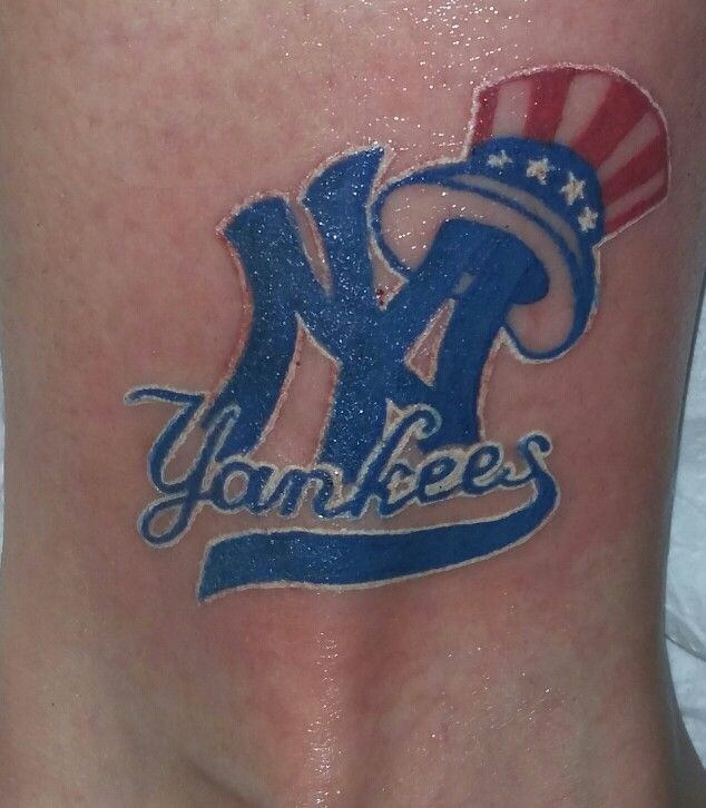 98 best images about tattoos piercing on pinterest coral for New york yankees tattoo