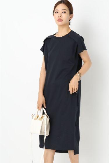 OKIRAKU/オキラクLESSAGE ジャージードレス