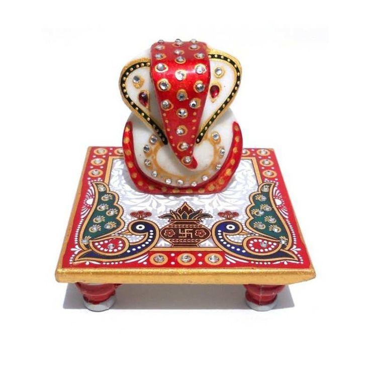 46% off on Anshul fashion Lord Ganesha Marble Chowki at #Celebstall  #homedecor #marblechowki #sale #discount http://goo.gl/esuglL www.celebstall.com