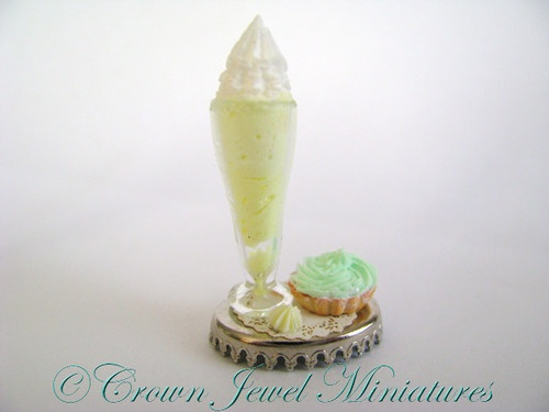 Lemon Parfait w/Lime Mousse Tart 2 Crown Jewel Miniatures★EXCLUSIVE ...