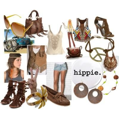 Modern Hippies Go Hippie This Summer With Loose T And Funky Jewls With Tottally Diff Headband