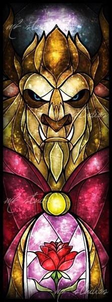 Stain Glass - Beast.