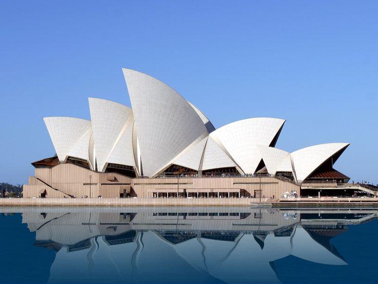 Danish architect Jørn Utzon: Sydney Opera House - Australia