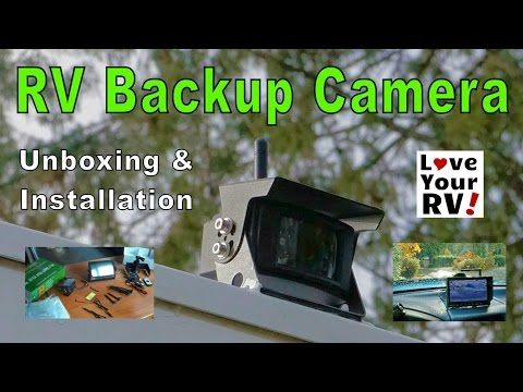 Installing a TadiBrothers Wireless RV Backup Camera System