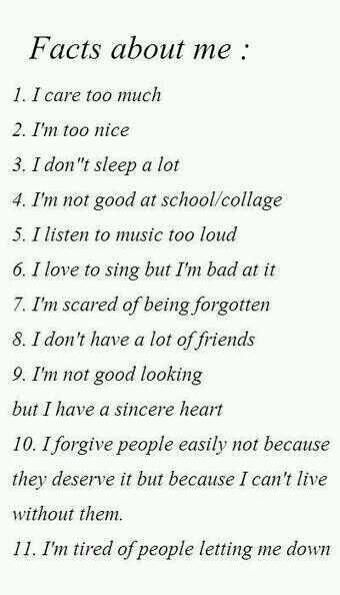 Change school to life in general and this is 100% accurate lol, and for god sake, it's college!