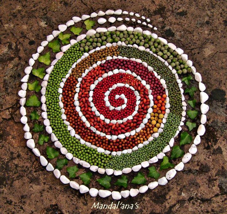 17 best images about mandalas in nature on pinterest manzanita mandala art and gaia - Mandala nature ...