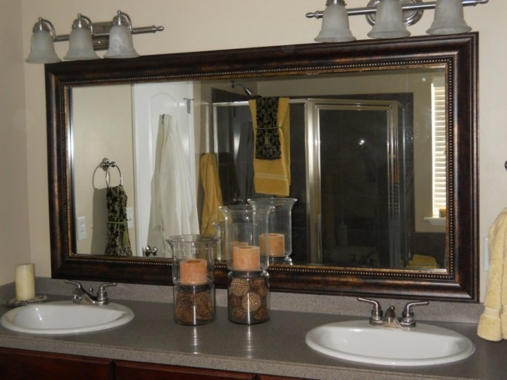 Best Reflected Design Custom Frames For Existing Mirrors Images - Custom framed bathroom mirrors