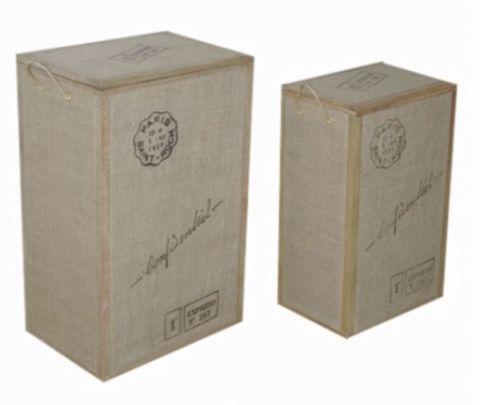 Postmark Laundry Basket - Set of 2 - Complete Pad ®