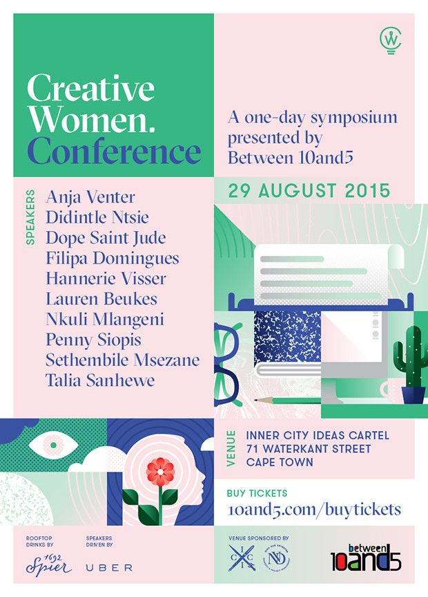 10and5's Creative Women Conference | Meet The Speakers