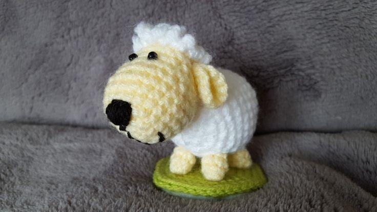 Háčkovaná ovečka /  crochet  sheep