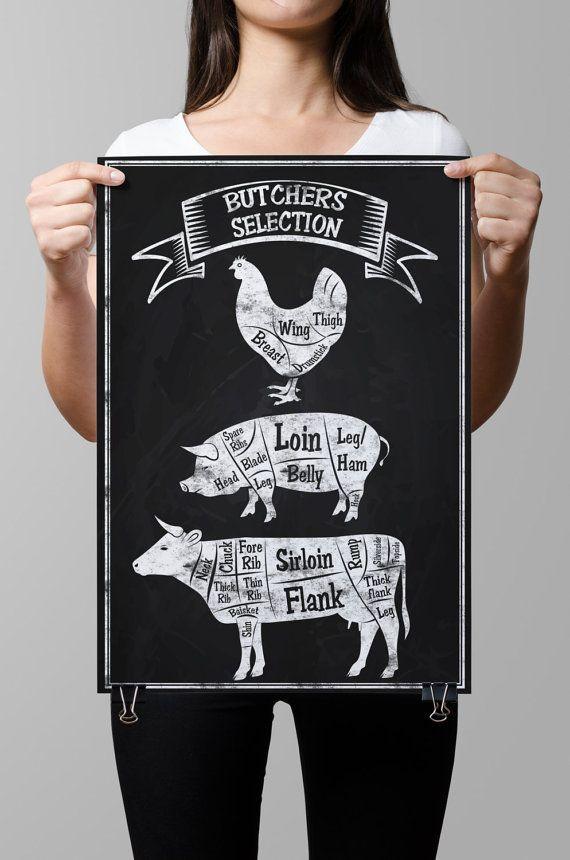 Kitchen Chalkboard-Chalkboard by TimelessMemoryPrints on Etsy