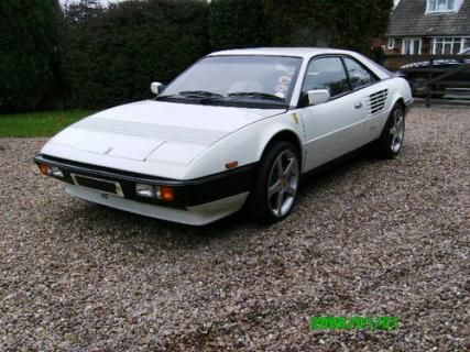 Only 4 white Ferrari Mondial 3L QV V8 Coupe's were ever made #VCI #vintagecars #classiccars