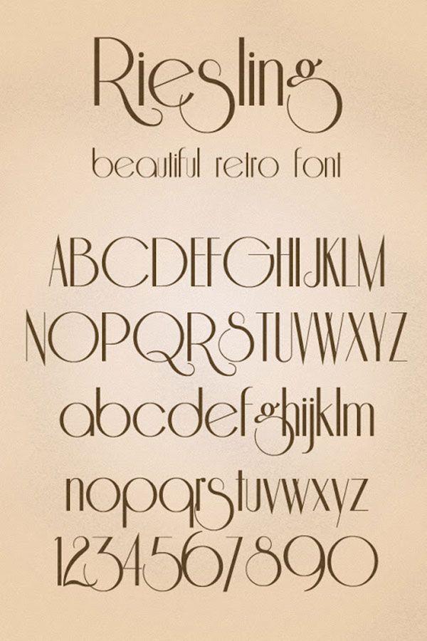 24 Best Free Retro Vintage Style Fonts Bashooka 24 Best Free Retro Vintage Style Fonts Web Graphic Design On B In 2020 Vintage Fonts Lettering Fonts Lettering
