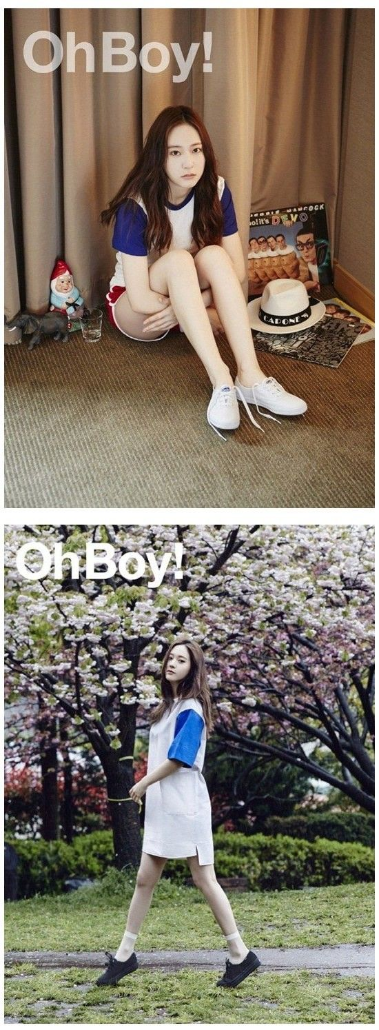 Krystal makes you go 'Oh Boy!' with her latest photo shoot | http://www.allkpop.com/article/2015/06/krystal-makes-you-go-oh-boy-with-her-latest-photo-shoot