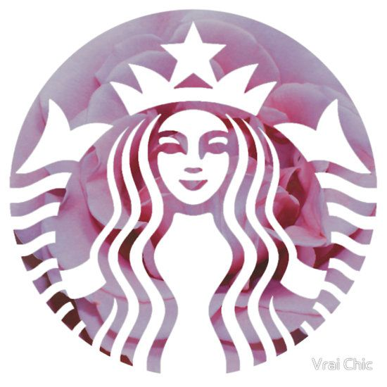 Starbucks Mermaid Pink Petals Logo - Hipster/Tumblr/Pretty/Trendy Meme