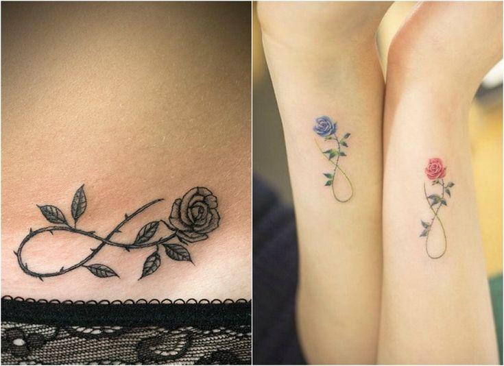 Rosenranke Tattoo: Bedeutung, Ideen und Vorlagen