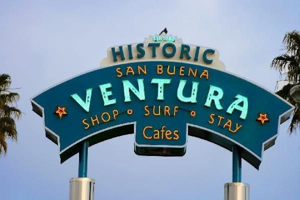 loving it here.....   Around the world and back again... Ventura, California