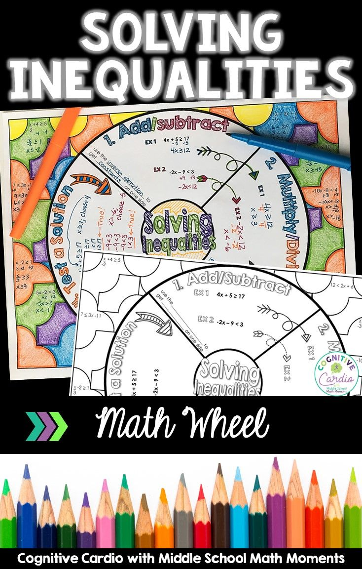 Try This Fun Note Taking Format To Help Your Math Students Learn Or Review Solving Inequalities They Can Col Middle School Math Math Interactive Notebook Math [ 1152 x 734 Pixel ]