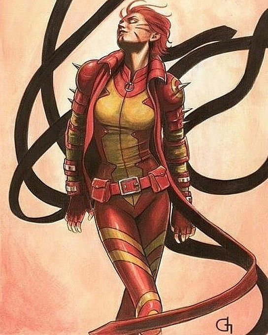 The true heir of the Phoenix Force. Rachael Summers. PS: I totally hate this…