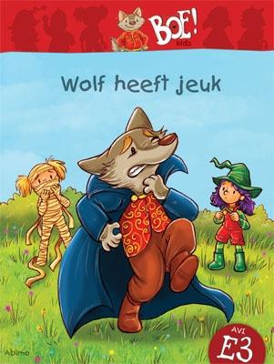 Boe! kids. Wolf heeft jeuk. Geschreven door Thea Dubbelaar