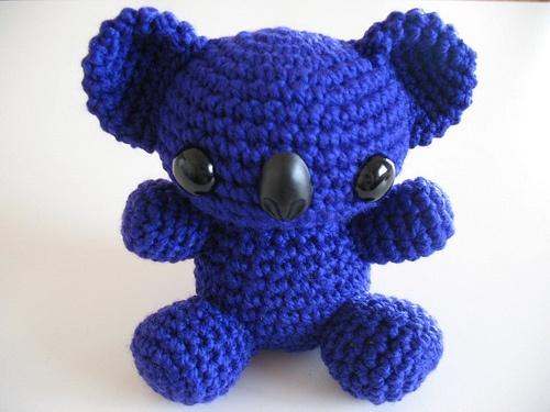 Koala Amigurumi Nose : 79 best images about Amigurumi on Pinterest Devil, Dog ...
